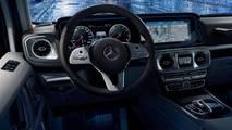 2018 Mercedes G Serisi iç mekan