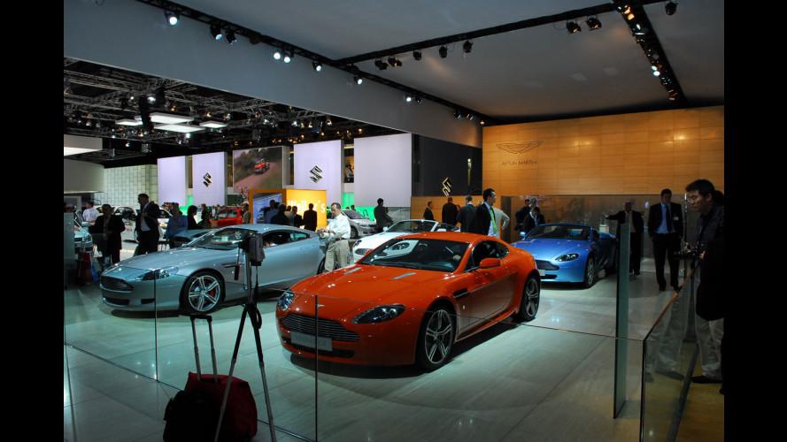 Aston Martin al Salone di Francoforte 2007