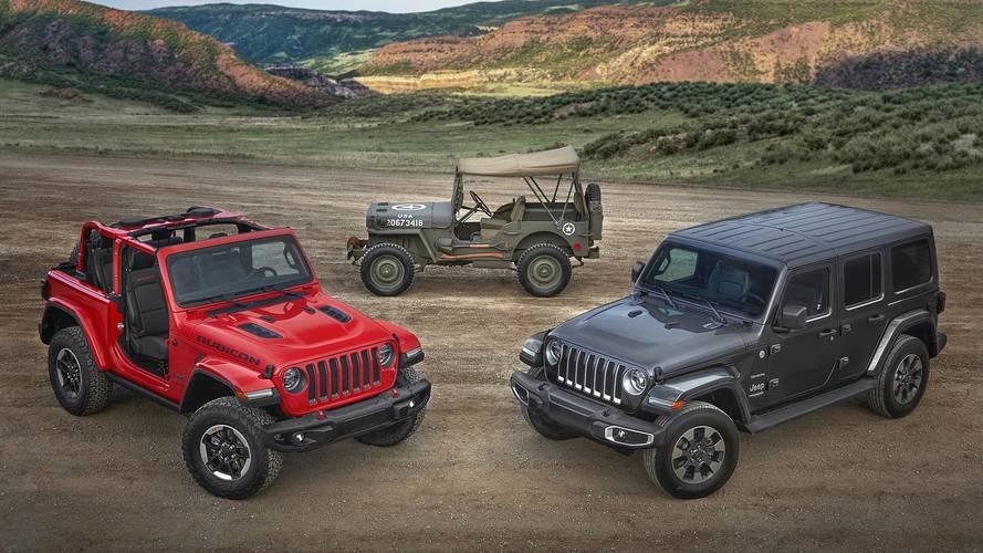 2018 Jeep Wrangler daha az ağırlık, daha fazla teknoloji ile geldi