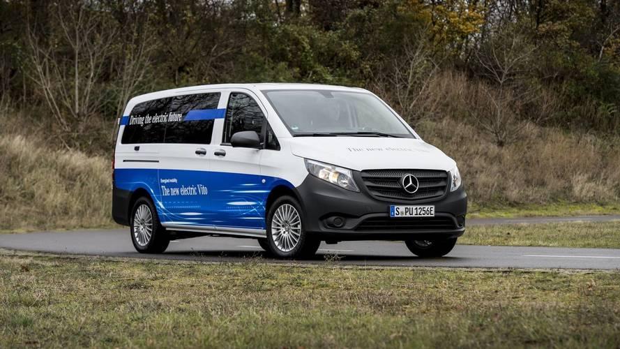 Mercedes eVito 2018, transporte ecológico
