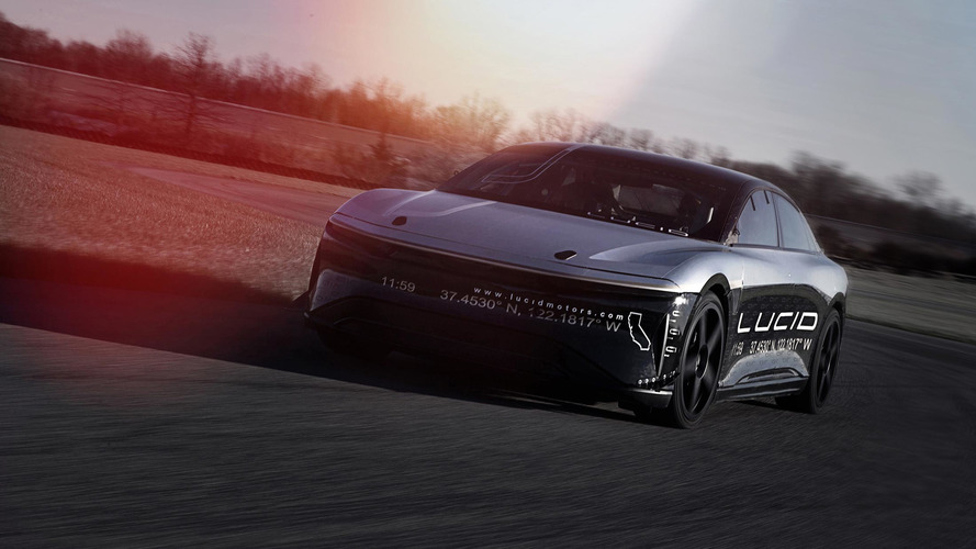Lucid Air Alpha Speed Car Tested At 217 MPH In Ohio