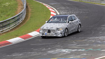 2019 Mercedes A-Class new spy photos from the Nurburgring