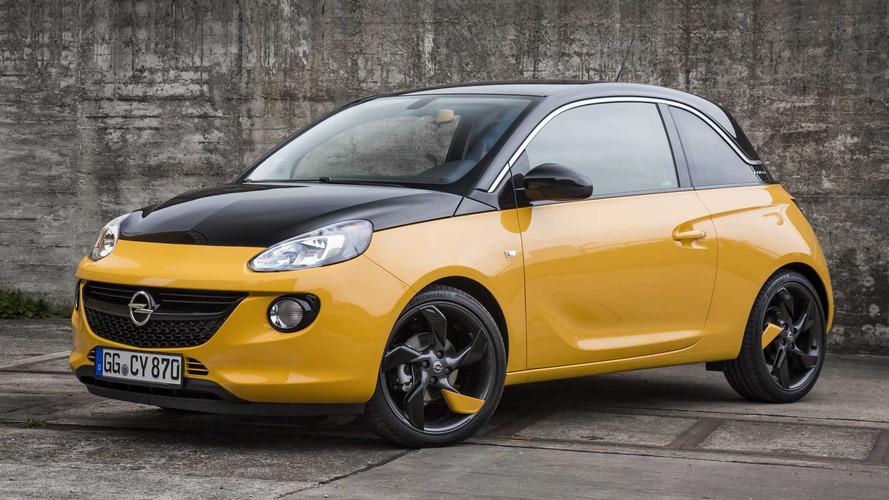 Opel Adam Black Jack Special Edition Is Half Yellow