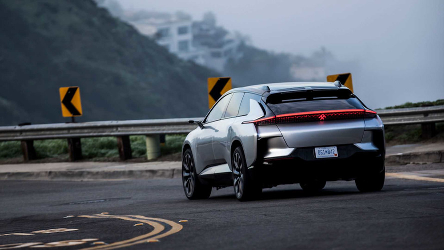 Faraday Future, FF 91'i Pikes Peak için test ediyor