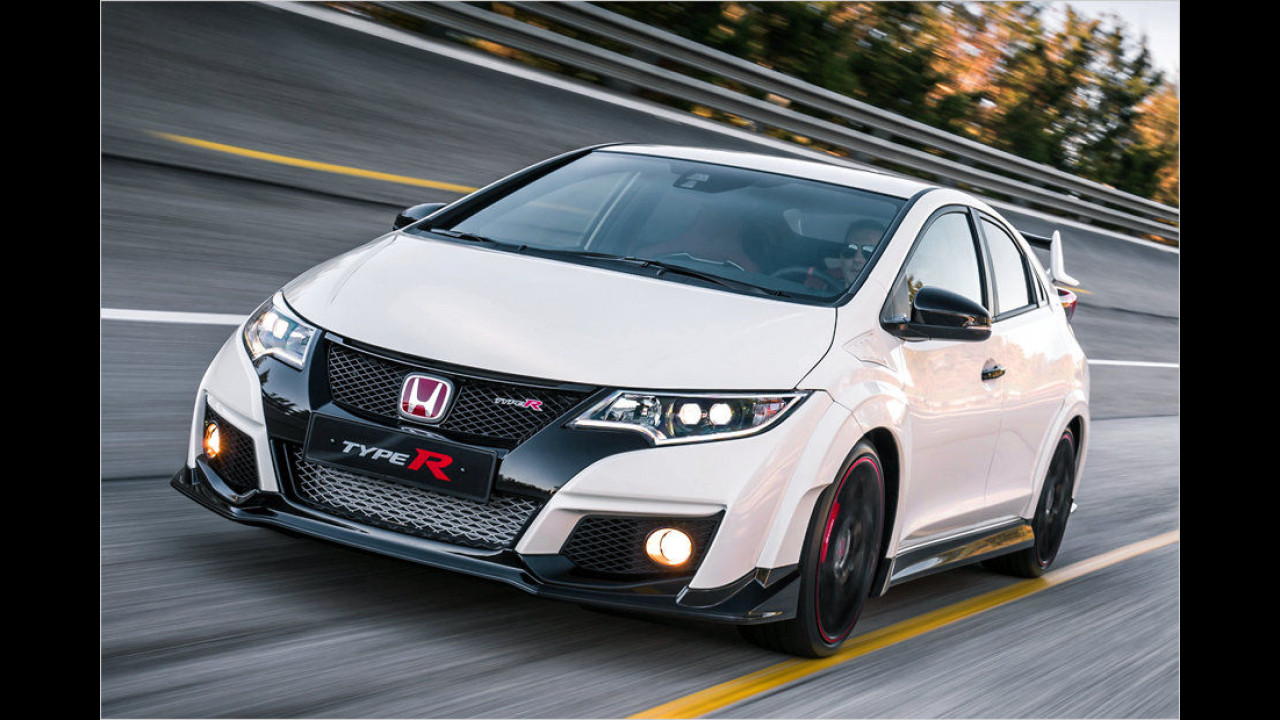Platz 3: Honda Civic Type R 2015