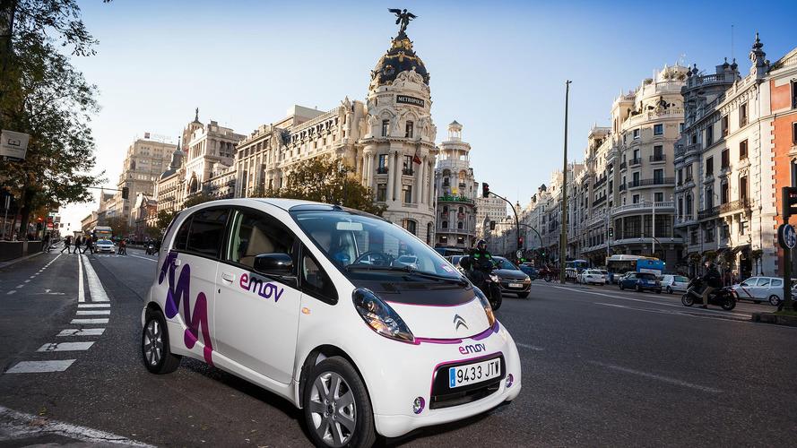 Citroën emov, el car sharing solidario