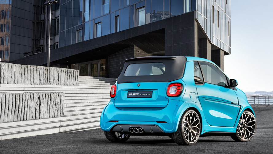Brabus beefs up Smart ForTwo Cabrio for Geneva