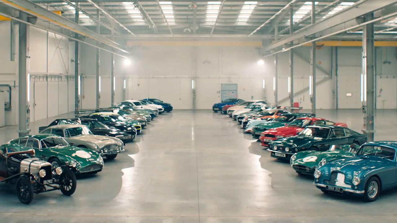 Usine Aston Martin