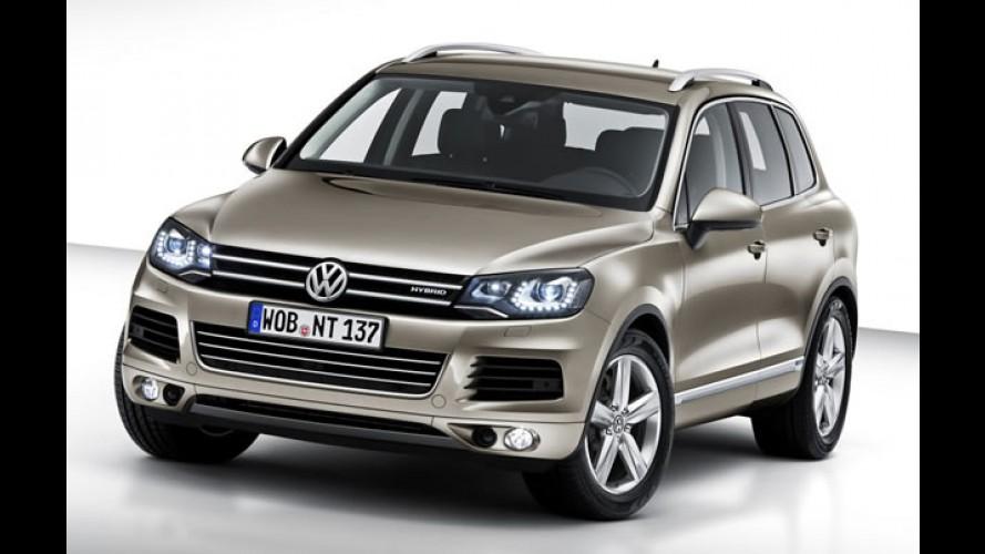 Novo Volkswagen Touareg 2011 - Utilitário ganha novo visual e inédito propulsor híbrido