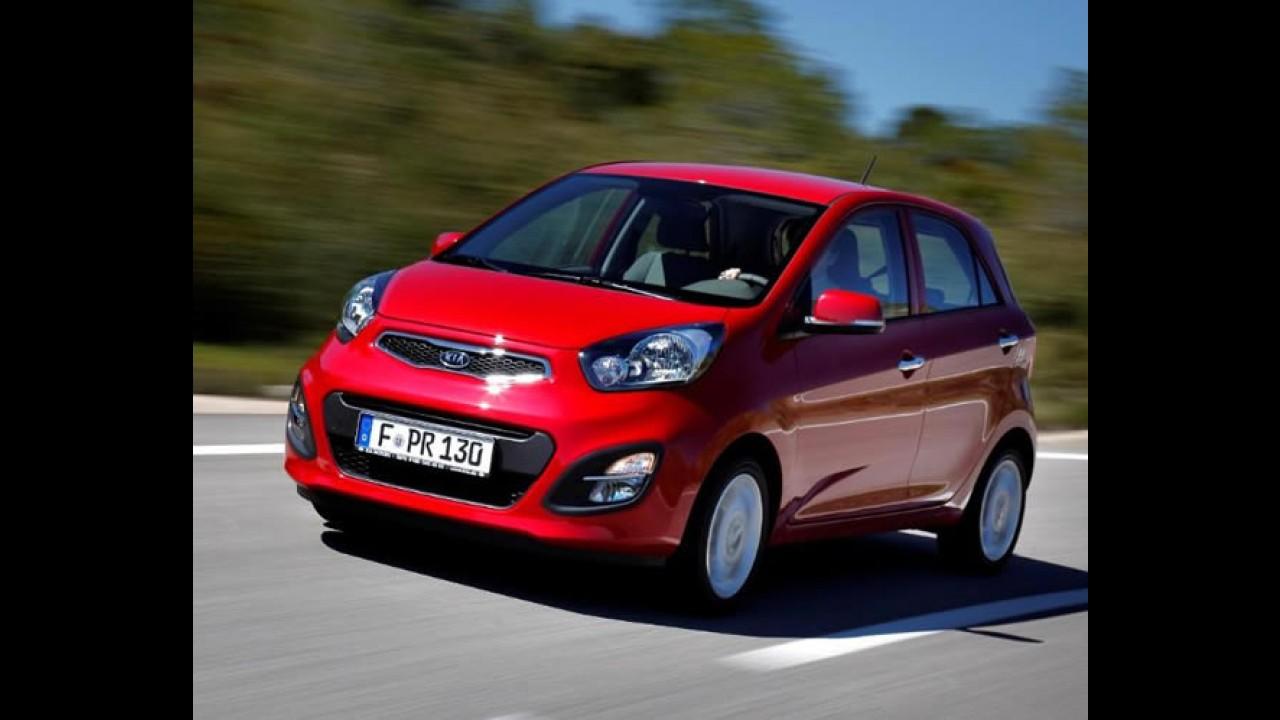 TOP COREIA DO SUL: Veja a lista dos carros mais vendidos em janeiro de 2013