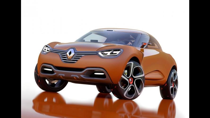Renault pode ter crossover semelhante ao Nissan Juke baseado no conceito Captur