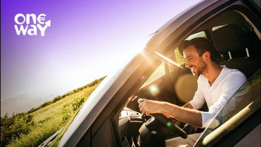"""Europcar lancia il noleggio di """"sola andata"""" a 1 euro"""