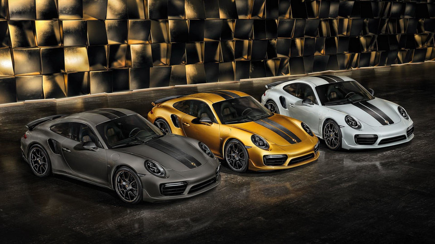 Yeni Porsche 911 Turbo S Exclusive Series