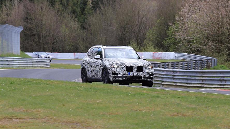 BMW X5 2018: fotos espía en Nürbrugring
