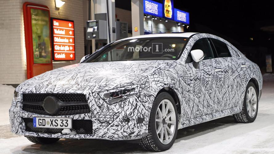 2018 Mercedes CLS Serisi de kış testinde yakalandı
