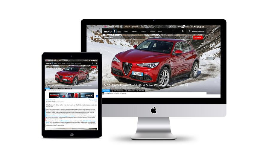 Motor1.com Birleşik Krallık versiyonu yayında
