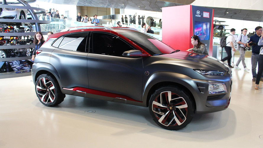 Hyundai Kona'ya şimdiden bir özel versiyon: Iron Man