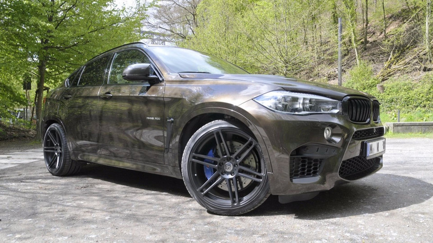 BMW X6 M Gets 690-HP Overhaul From German Tuner