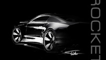 Galpin Auto Sports Rocket teased, was designed by Henrik Fisker