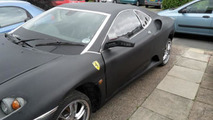 Peugeot 406 Coupe turned into a Ferrari F430, sort of