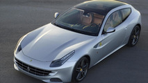 2013 Ferrari FF with full-length panoramic roof