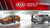 2013 Kia Pro_cee'd unveiled in Paris