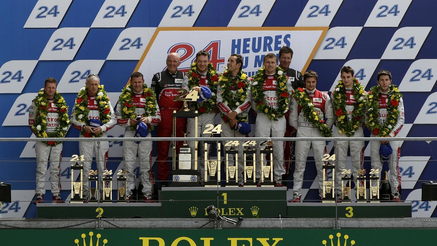 Audi R18 e-tron quattro wins 24 Hours of Le Mans [video]