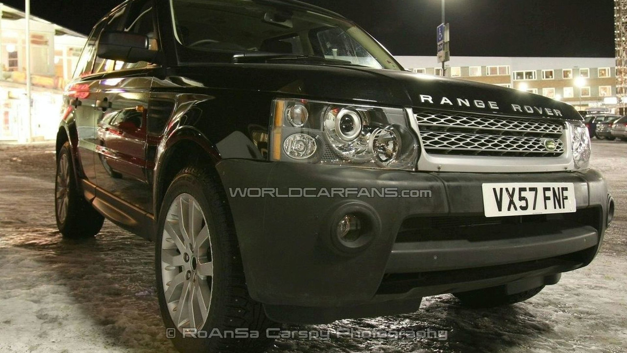 Range Rover Sport with minor facelift