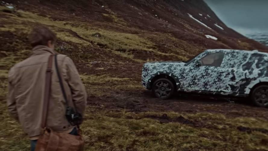 Rolls-Royce Cullinan, i primi video