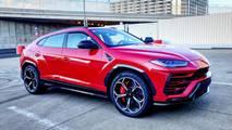 Lamborghini Urus Rosso Mars