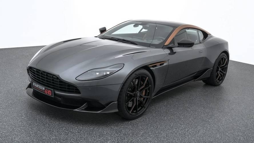 Aston Martin DB11 Gets Upgraded AMG V8 Engine From Startech