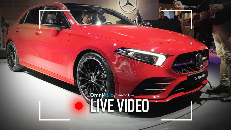 Mercedes Classe A, la nuova generazione vista dal vivo
