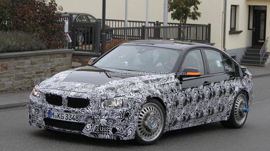 2014 BMW M3 spied in final form