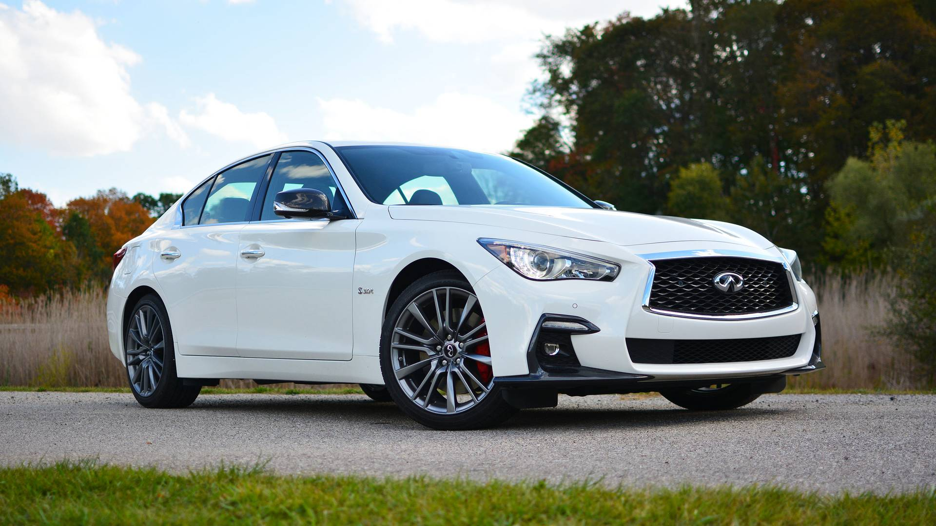 2018 infiniti q50 red sport 400 review tragically flawed. Black Bedroom Furniture Sets. Home Design Ideas