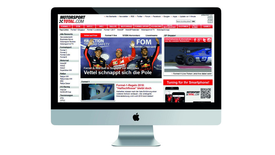 Motorsport Network acquires Germany's sport media group