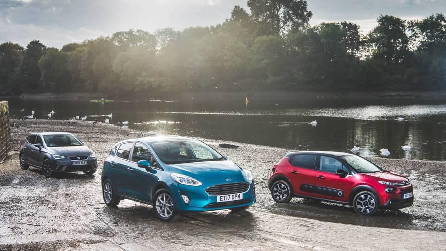 2017 Citroen C3 vs Ford Fiesta vs Seat Ibiza
