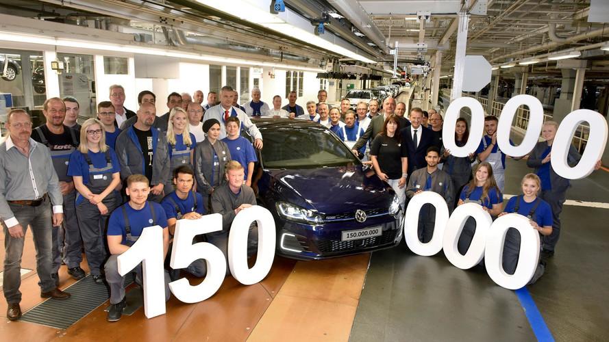 Volkswagen, 150 milyonuncu aracını üretti