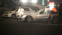 Mercedes SL Spied During Photo Shoot in Dubai