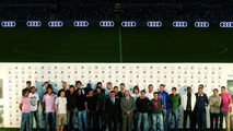 FC Barcelona stars get their new Audi Q7 cars