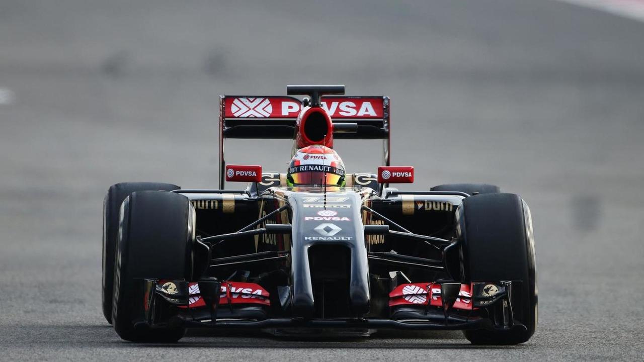 Pastor Maldonado 22.02.2014 Formula One Testing Bahrain