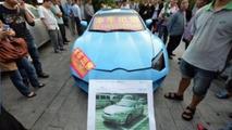 Hyundai Tiburon-based Lamborghini Aventador replica isn't fooling anyone
