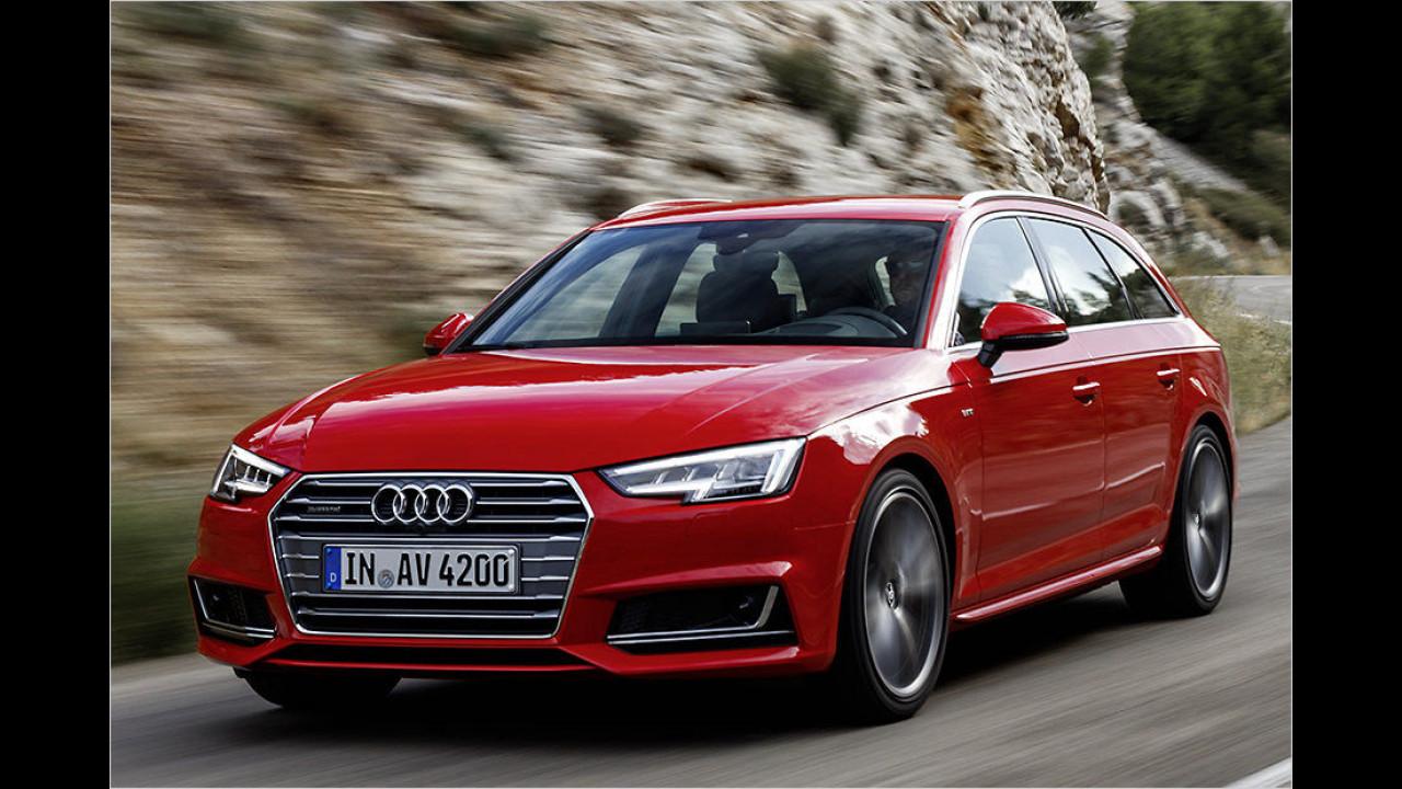 Mittelklasse: Audi A4 Avant 2.0 TDI ultra