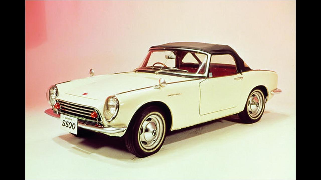 50 Jahre Honda-Pkw