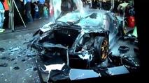 Lamborghini Murcielago Destroyed Taiwan