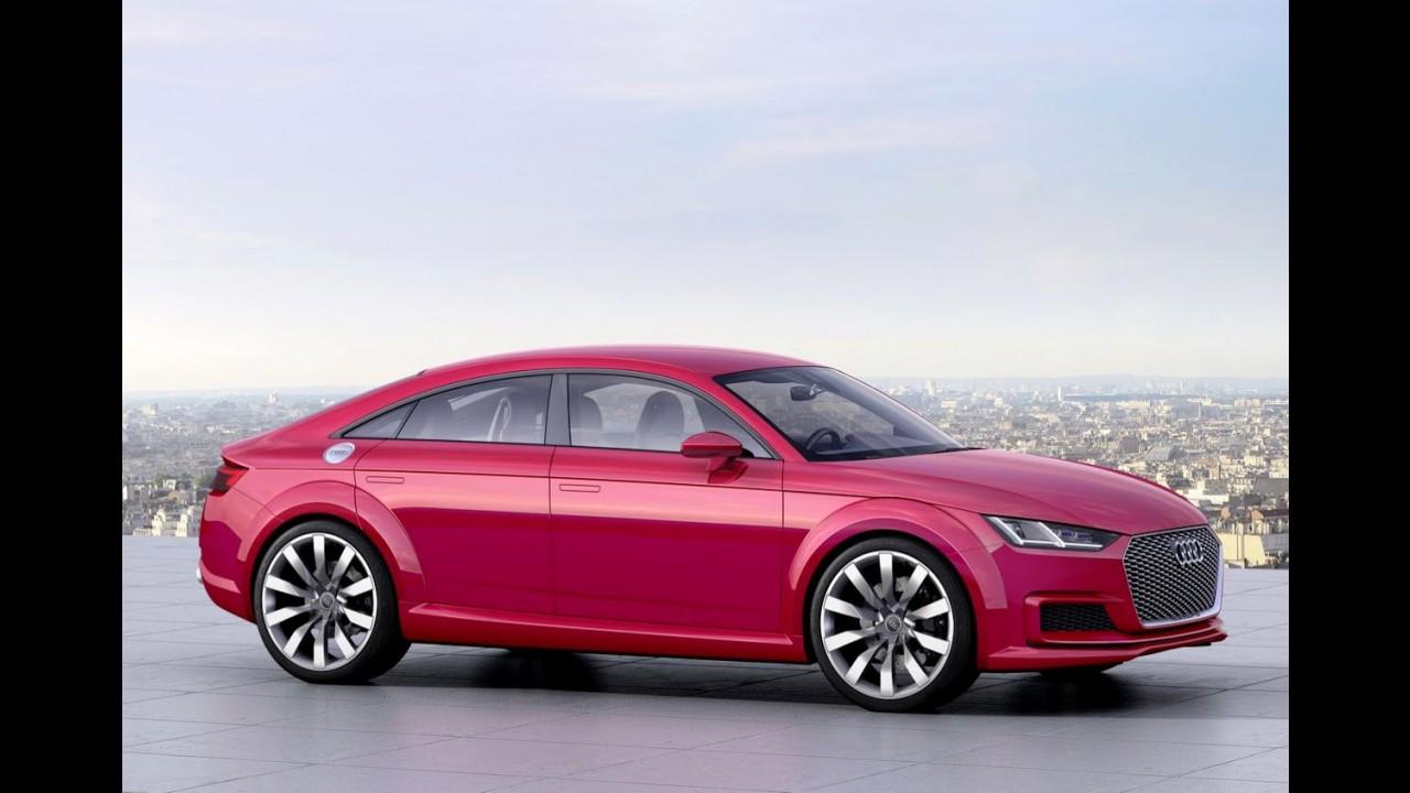 """Audi TT Sportback: """"versão 4 portas"""" de produção estreia na semana que vem"""