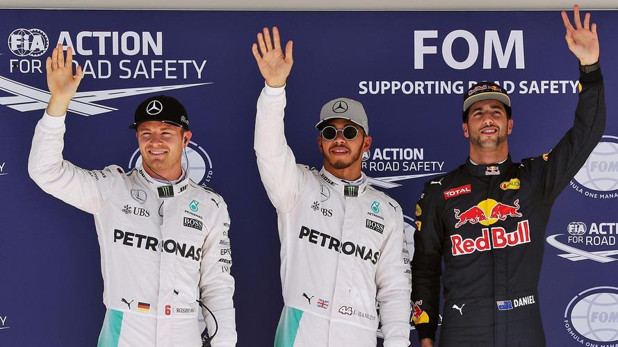 Formule 1 - Lewis Hamilton en pole position du Grand Prix des États-Unis