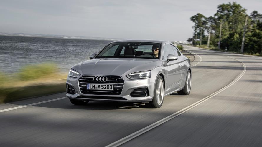 Audi A5 Coupe yenilenen yüzüyle Türkiye'de