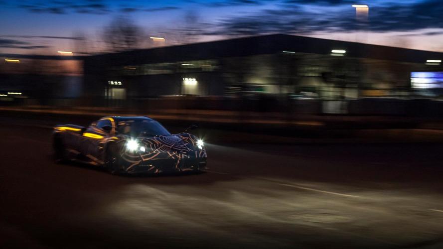 Pagani Huayra Roadster teaser hints at BC specs