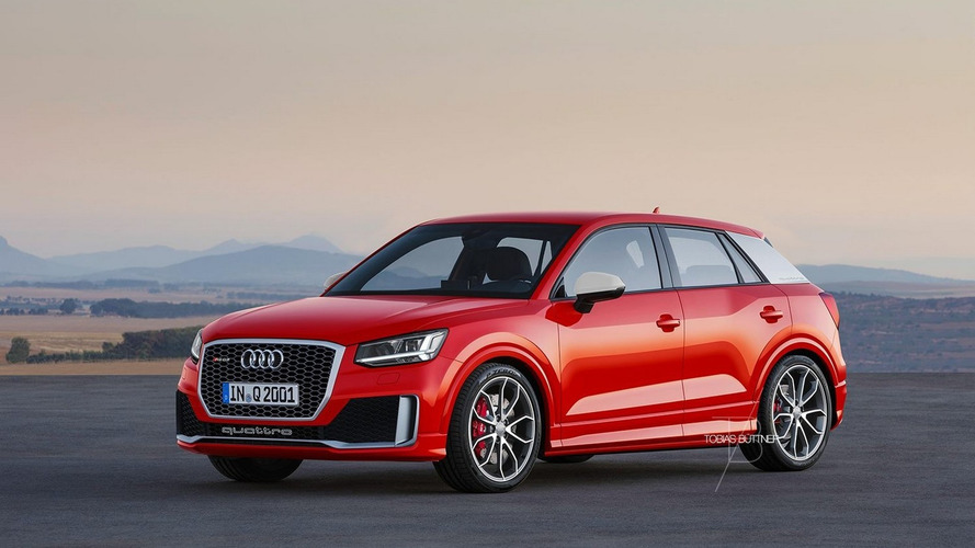 Independent artists envision Audi RS Q2