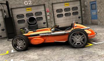 Swedish Design Envisions Modern Caterham with 60s Indy Styling